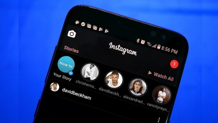 Instagram mode sombre ou dark mode