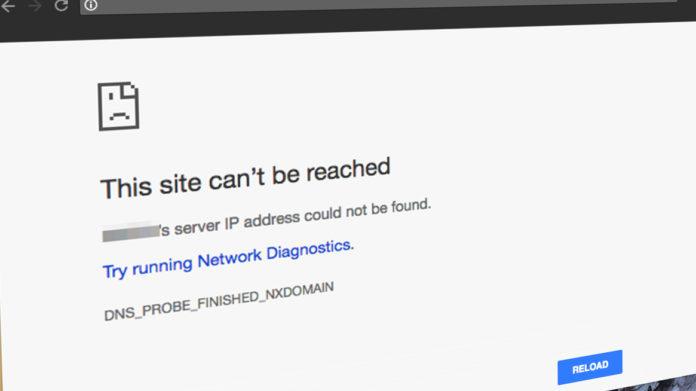 Le serveur DNS ne répond pas