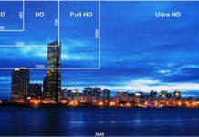 différences résolution video SD HD FullHD UHD