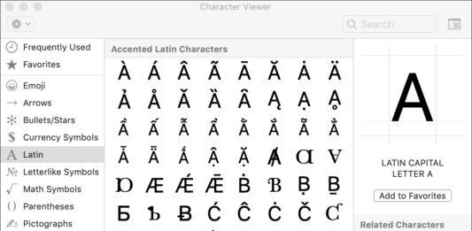 lettres majuscule accentuées