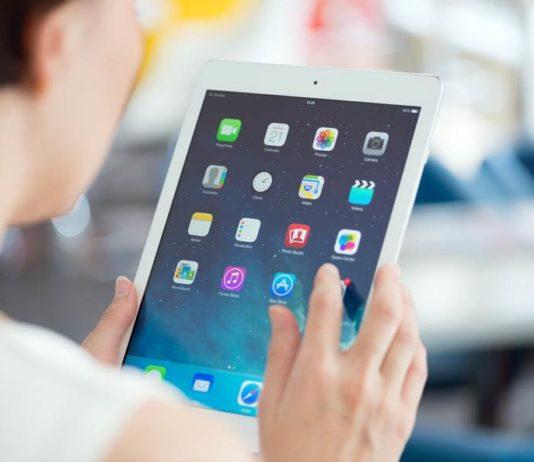 réinitialiser un iPad